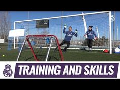 Super reflexes in goalkeepers' training exercise! Real Madrid Video, Goalkeeper Training, Drills, Soccer, Exercise, Youtube, Goalkeeper, Goaltender, Football