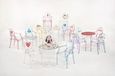 Lou Lou Ghost by Philippe Starck