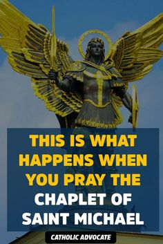 This Is What Happens When You Pray the Chaplet of Saint Michael - The Catholic Herald