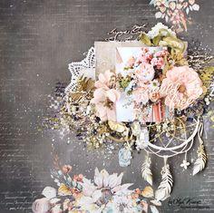 """Blooming garden"" by Olya Kravets"