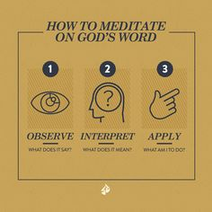 How To Meditate Gods Word [EBOOK] - airport-on-rails.org