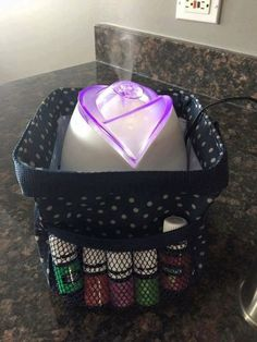 Oil storage and transport with Thirty-One! MommaNeedsaNewBag.com