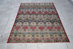 Isparta Vintage Rug 6.3 X 9.8 FT ( 194 X 300 CM )  by galleryboga on Etsy https://www.etsy.com/listing/236306938/isparta-vintage-rug-63-x-98-ft-194-x-300
