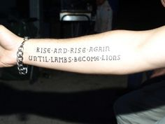 rise and rise again until lambs become lions - Google Search