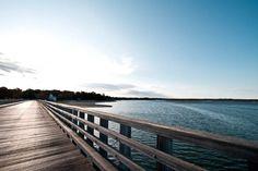 Duxbury Beach Bridge/ Duxbury Mass