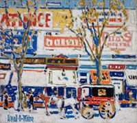 """David Milne: Modern Painting"", on view at the Dulwich Picture Gallery in London, U., traces Milne's various influences, exploring the process by which he established himself as a radical and experimental artist. Classic Paintings, Old Paintings, Ottawa, David Milne, Art Inuit, Dulwich Picture Gallery, Vancouver Art Gallery, Galleries In London, Canadian Artists"