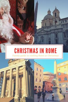 What is Christmas in Rome like? What is the weather like, what is open and what are must-see Rome attractions you cannot miss this time of the year? Find out with this family guide to Rome at Christmas with practical tips and advice and 10 unique things t Christmas In Rome, What Is Christmas, Christmas Travel, Holiday Travel, Christmas Weather, Christmas Trips, Christmas Markets, Christmas Ideas, Xmas