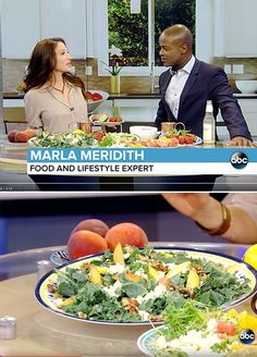 Watch how to use that summer produce! HEALTHY MEALS FOR THE SUMMER @marlameridith on @ABC MarlaMeridith.com