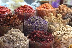 Spice shopping in the traditional souks, Dubai. Image by Elroy Serrao / CC BY-SA 2.0