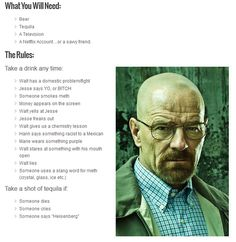 """""""Breaking Bad"""" Drinking Game - BuzzFeed Mobile"""