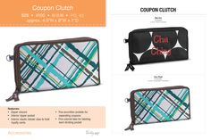 Coupon Caddy from Thirty One Gifts  See more and order online from the Fall catalog at: www.mythirtyone.com/DebbieGeeter/