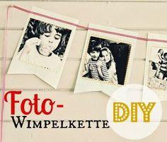diy Fotowimpelkette                                                                                                                                                                                 Mehr