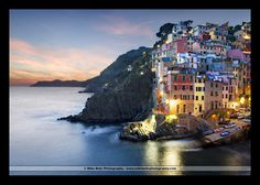 Sunset on the Cinque Terre by Mike Behr, via 500px
