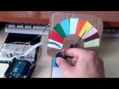 Arduino color sensor  RGB+LDR -with servo - YouTube