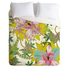Sabine Reinhart Life Is Music Duvet Cover | DENY Designs Home Accessories