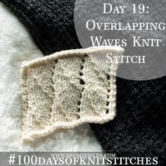 Video: Overlapping Knit Stitch