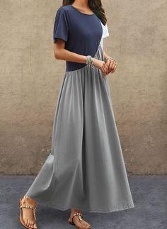 Buy Dresses, Online Shop, Women's Fashion Dresses for Sale - Floryday Shift Dresses, Day Dresses, Dresses For Sale, Casual Dresses, Dresses Online, Vestido Casual, Maxi Robes, Spring Dresses, Feminine Style
