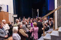 TEATR INACZEJ - BLIŻEJ SCENY 2015/2016 - Wycieczki po teatrze - prowadzenie Anna Korzon-Wnukowska (fot. Michał Matuszak)