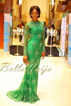 Green Ivy formal evening gown