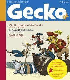 Gecko Magazin mit schönen Geschichten & Co