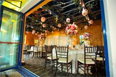 Elegant décor and lighting by Daniel Events, a preferred vendor of The Seagate Hotel & Spa | www.TheSeagateHotel.com
