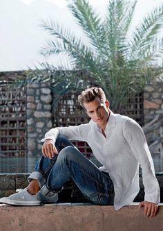 Aaron Bruckner - Top Male Models, bio, Pictures, Photo Gallery. Aaron Bruckner, born in 1988, in Westerwald, Germany, is a German model of Dutch and German descent. . http://www.sexyyoungmalemodel.com/model-and-supermodels/aaron-bruckner.html