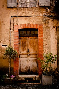 Door in Southern France