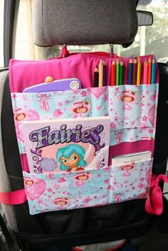 Car seat organizer- see if I can find a pattern. Looks easy enough.:
