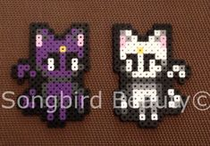 Luna,  Perler Beads, Sailor Moon, Geekery, Anime, magnet, christmas ornament