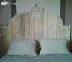 Mes Têtes De Lit En Palettes / My Pallet Bed Headboards DIY Pallet Bed Headboard & Frame