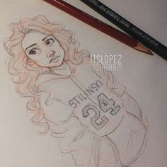 by Itslopez . Character Sketch / Drawing