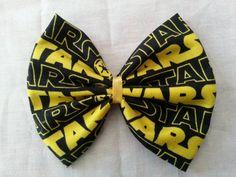 Star Wars Star Wars Hair Bows Star Wars Bows by CaliAnnsCreations