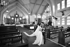 Arnel and Franisa's Baguio wedding - St Joseph the Worker Parish, Pacdal, Baguio City