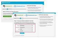 Evernote-Shoeboxed partnernship for organizing paper clutter
