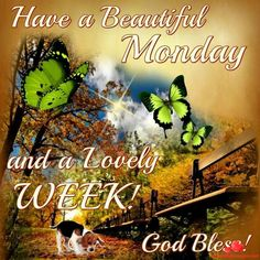 Have A Beautiful Monday And Lovely Week monday good morning monday quotes good morning quotes happy monday monday quote happy monday quotes good morning monday monday quotes for family and friends Have A Blessed Monday, Blessed Week, Have A Happy Day, Happy Monday, Monday Monday, Good Monday Morning, Good Morning Good Night, Good Night Quotes, Monday Greetings