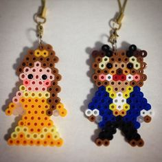 Beauty and the Beast perler beads by ringo_0122