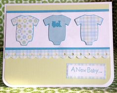 Booscraps - Scrapbooking, card making and a little bit of my life.: New Baby Cards - Cricut New Arrival Cartridge