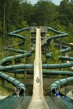 Dollywood's Splash Country - Piegon Forge, Tennessee