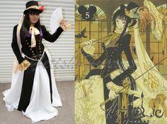traje especial de personagem do mangá Yuukii -XXXHOLIC