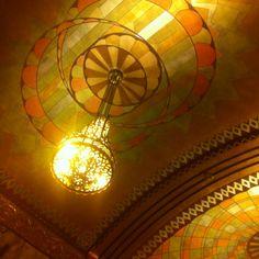 Art Deco inside the Philtower in downtown Tulsa, Oklahoma.
