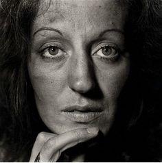 Germaine Greer (Australian 1939 - )  writer and public intellectual, portrait by Diane Arbus photographer (American 1923 -1971)