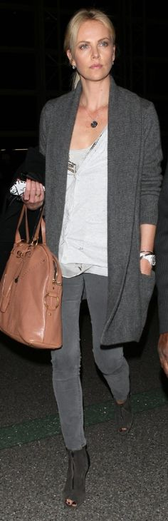 Who made Charlize Theron's tan handbag that she wore in Los Angeles on April Purse – Yves Saint Laurent Watch – Christian Dior Jennifer Hudson, Kate Hudson, Charlize Theron Style, Jackson, Tan Handbags, Kristin Cavallari, Rachel Bilson, Pippa Middleton, Katie Holmes