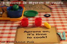 8 materie che i bambini possono imparare in cucina