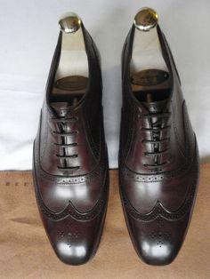 NEW LADIES EDWARD GREEN Brown Calf Leather Brogues Lace Shoe UK 5.5 EU 38.5 RARE #EdwardGreen #Laceup #Formal
