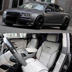 """S8 customized by @KnightLuxury follow their page  ______ #Audi #S8 #AudiS8 #Audigramm #KnightLuxury"""