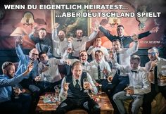 Wenn die Hochzeit eine Pause braucht - Deutschland - die Mannschaft Euro 2016