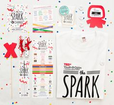 TEDx Youth Gijón by Mara Rodríguez, via Behance
