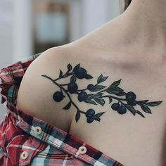Image result for blueberry tattoo