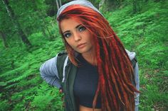 Red dread head