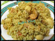 Ριζότο με θαλασσινά - Kalli's blog